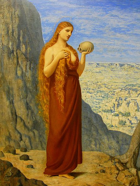 Mary Magdalene in the desert - Puvis de Chavanne