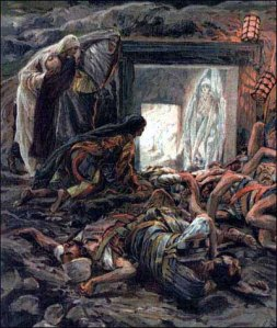 Mary Magdalene and the Holy Women at the Tomb - James Tissot