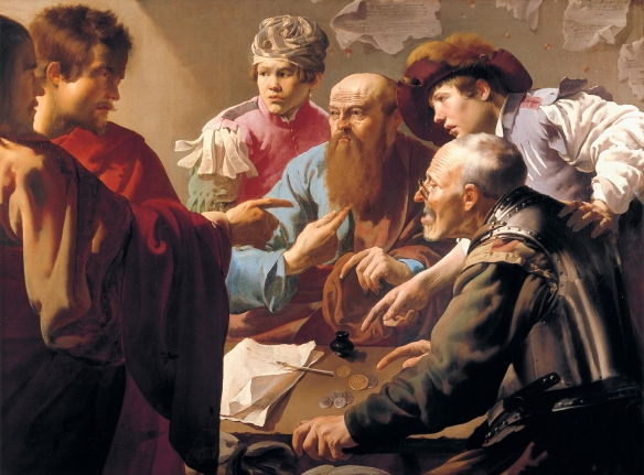 1621The Calling of Saint Matthew - Hendrick Brugghen -