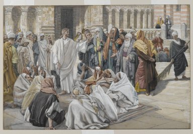 Jesus answers Pharisees - James Tissot
