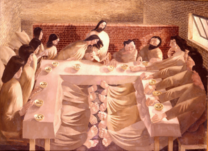 Sir Ralph Spencer , Last Supper