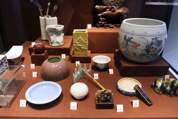 Chinese scholar's objects