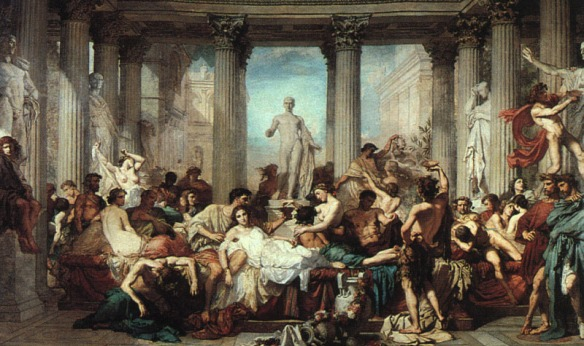 The Decadence of Rome - Thomas Couture
