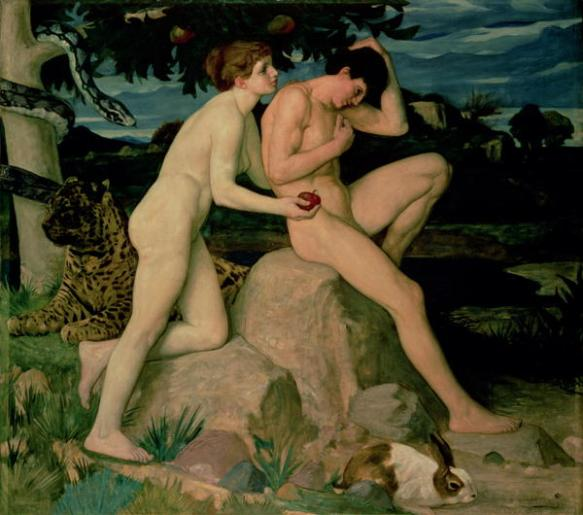 Adam & Eve - William Strang