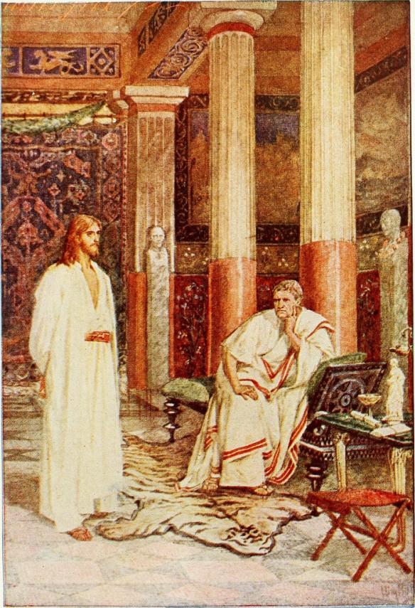 pilate jesus