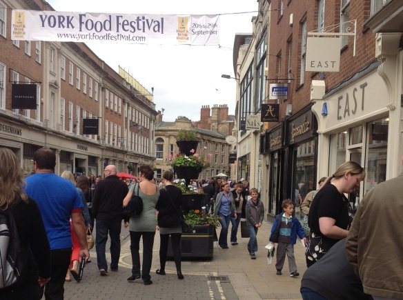 Food Festival in York - Amazing!
