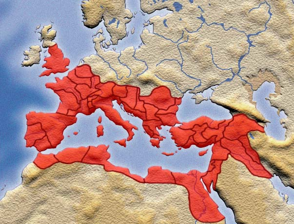 Greatest extent of the Roman Empire