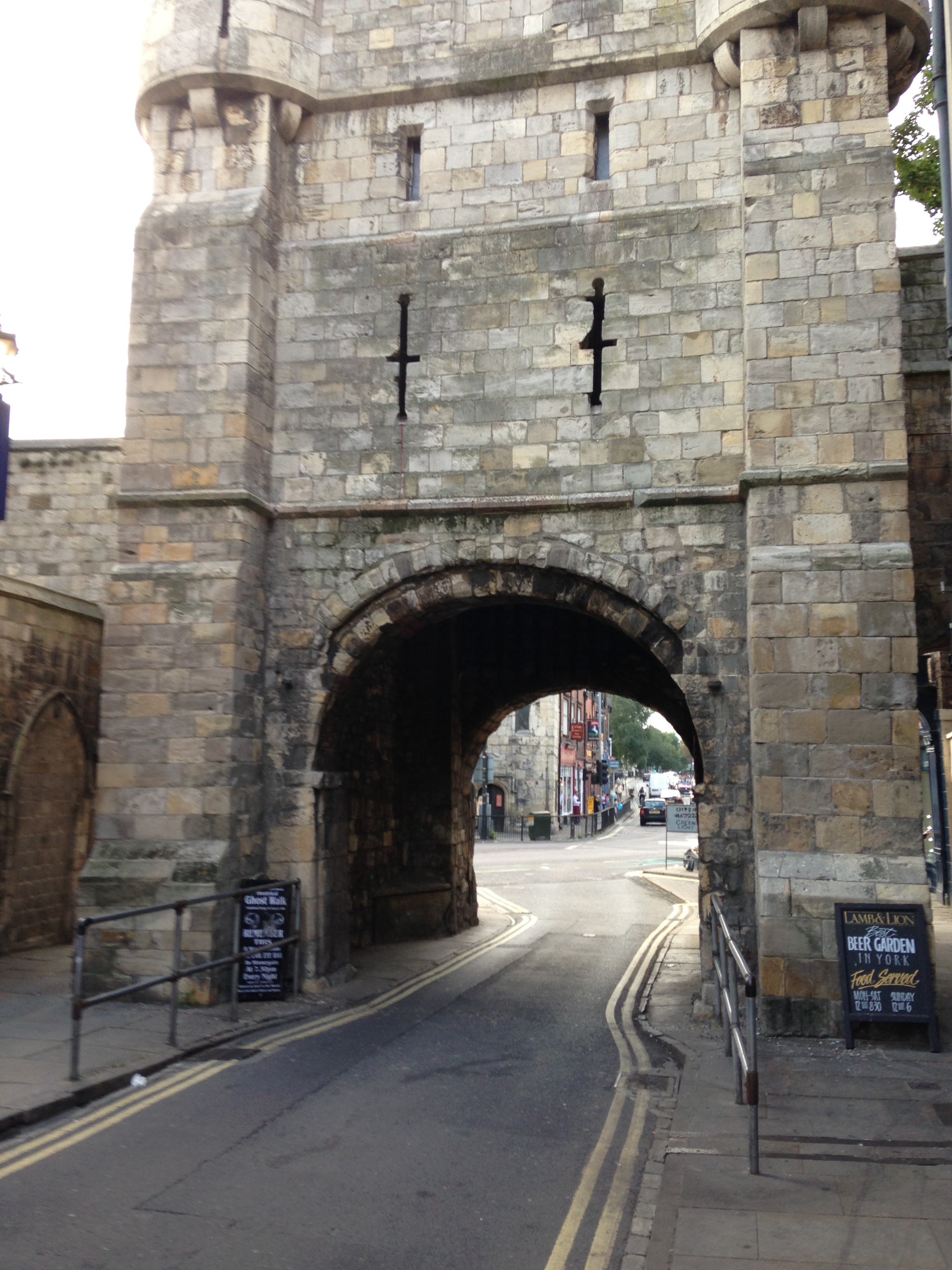 Bootham Bar*             (*A Gate is Bar)