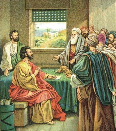 600-Acts 11 Giving Money1