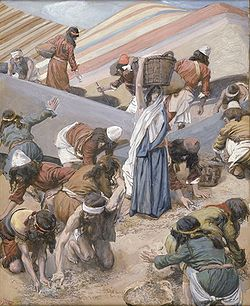 The Gathering of the Manna - Tissot