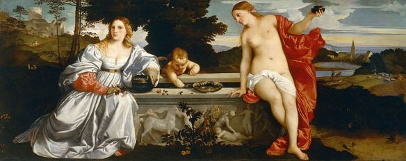Sacred and Profane Love Titian (1490–1576)