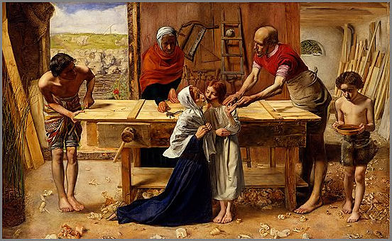 Christ in the Carpenters Shop - John Everett Millais
