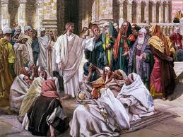 Jesus & Pharisees - James Tissot