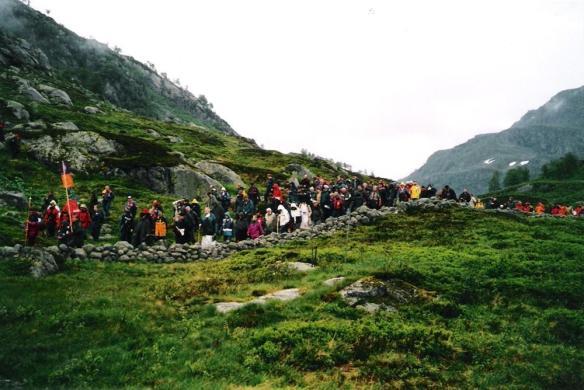 Norway pilgriamge Sukdal