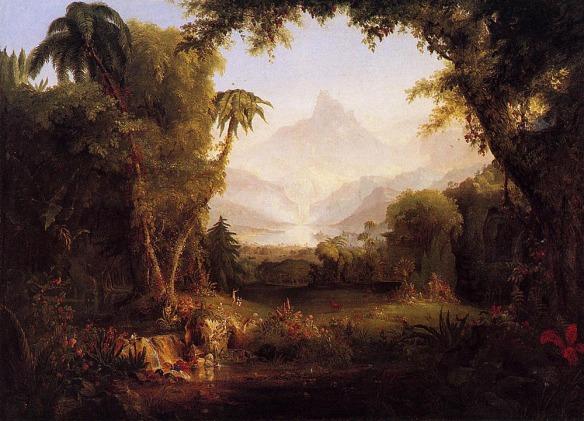 The Garden of Eden - Thomas Cole