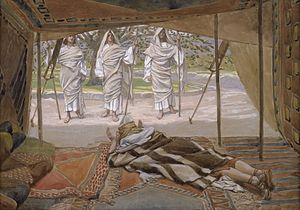Abraham & the Three Angels - James Tissot