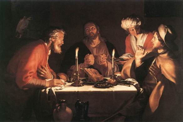 Supper at Emmaus - Abraham Bloemaert