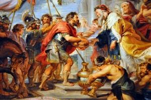 Sir Peter Paul Rubens - The Meeting of Abraham and Melchizedek, 1626