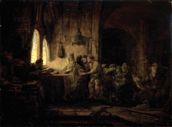 Rembrandt - Parable of the Workers in the Vinyard
