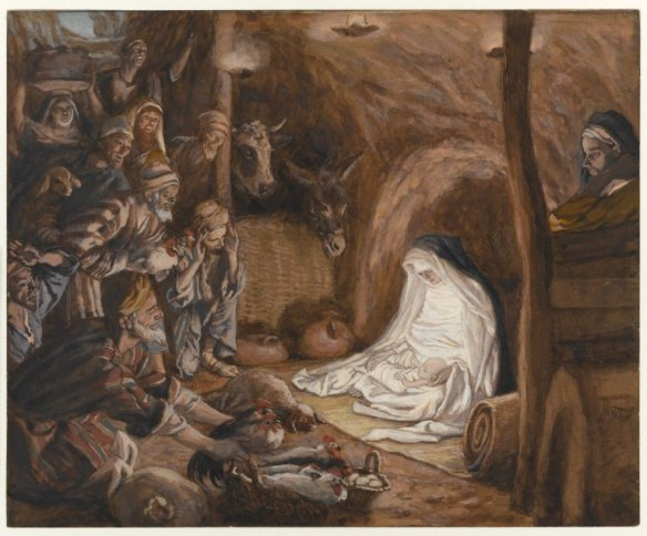 Adoration of the Shepherds - Tissot
