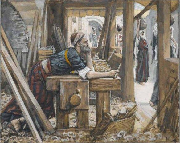 The Anxiety of Saint Joseph - Tissot