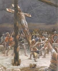 Raising the Cross - James Tissot