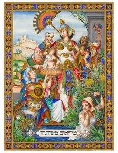 Princess plucks Moses from Nile
