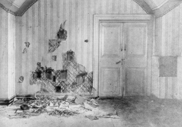 Romanov murder room