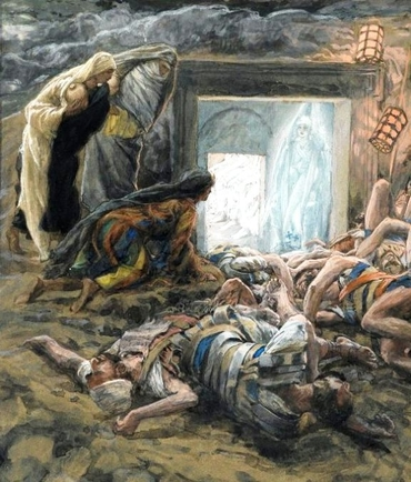 tissot angels at tomb