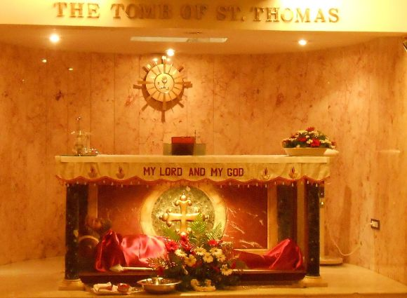 Tomb of Thomas today